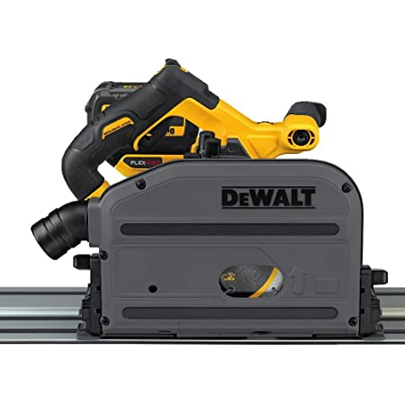 DEWALT FLEXVOLT 60V MAX Circular Saw, 6-1/2-Inch, Cordless TrackSaw Kit (DCS520T1)