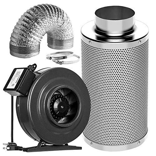 VIVOSUN Air Filtration Kit: 6 Inch 440 CFM ...