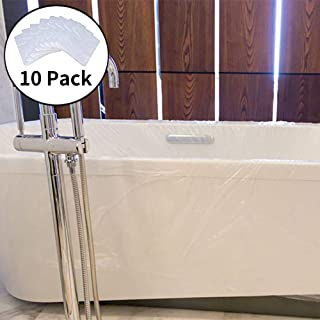 NWK Disposable Household Bathtub Cover Bag Film for Personal Hygiene, Prevent from Clogging Drains & Keep Bathtub Clean