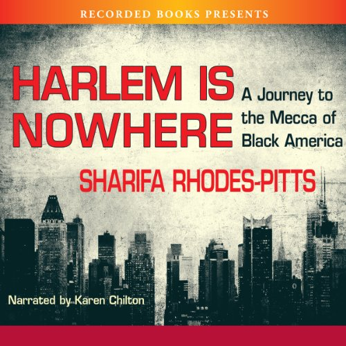 Harlem Is Nowhere audiobook cover art