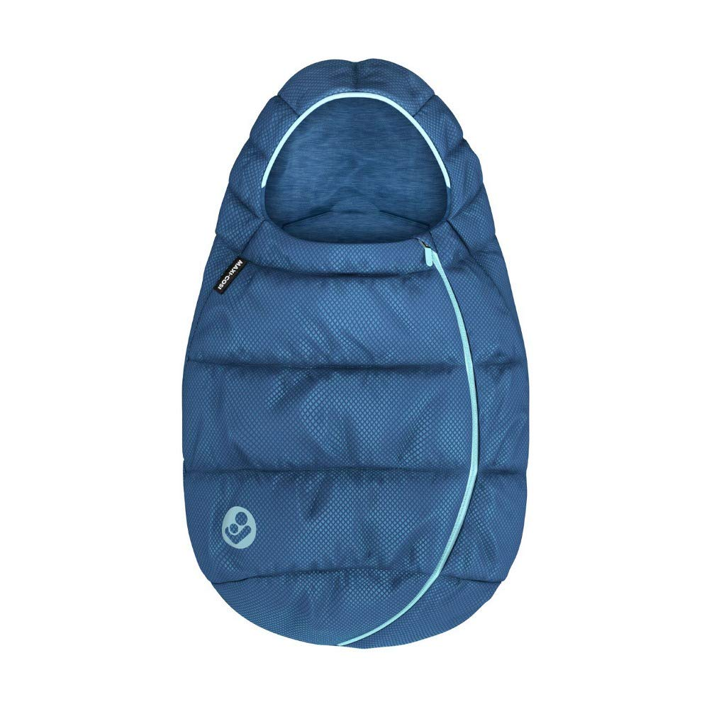 nutzbar ab der Geburt bis ca 40-80 cm Maxi-Cosi Fu/ßsack kuschelig warm und passend f/ür alle Babyschalen 1 Jahr essential blue 8735750110