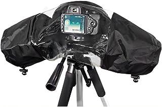 kingwon cámaras lluvia chaqueta abrigo de lluvia impermeable Escudo protección funda de lluvia para Canon Nikon Sony Olympus Panasonic y Pentax cámaras réflex digitales lente pantalla accesorios