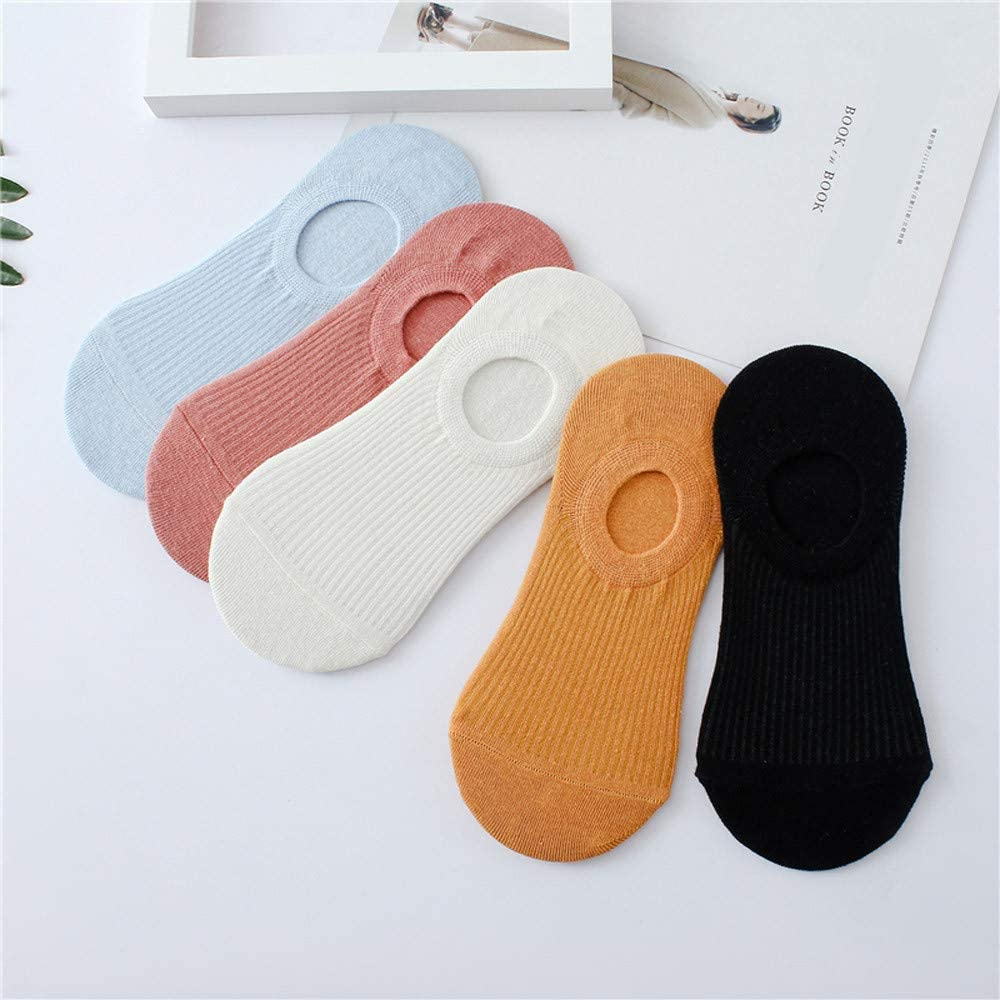 ZEFOTIM ✿ Fashion Sock Women Solid Color Cotton Comfortable Socks
