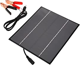 VGEBY Solar Panel Multi-Function Solar Panel Charger 12V 6W DIY External Battery for Outdoor Camping