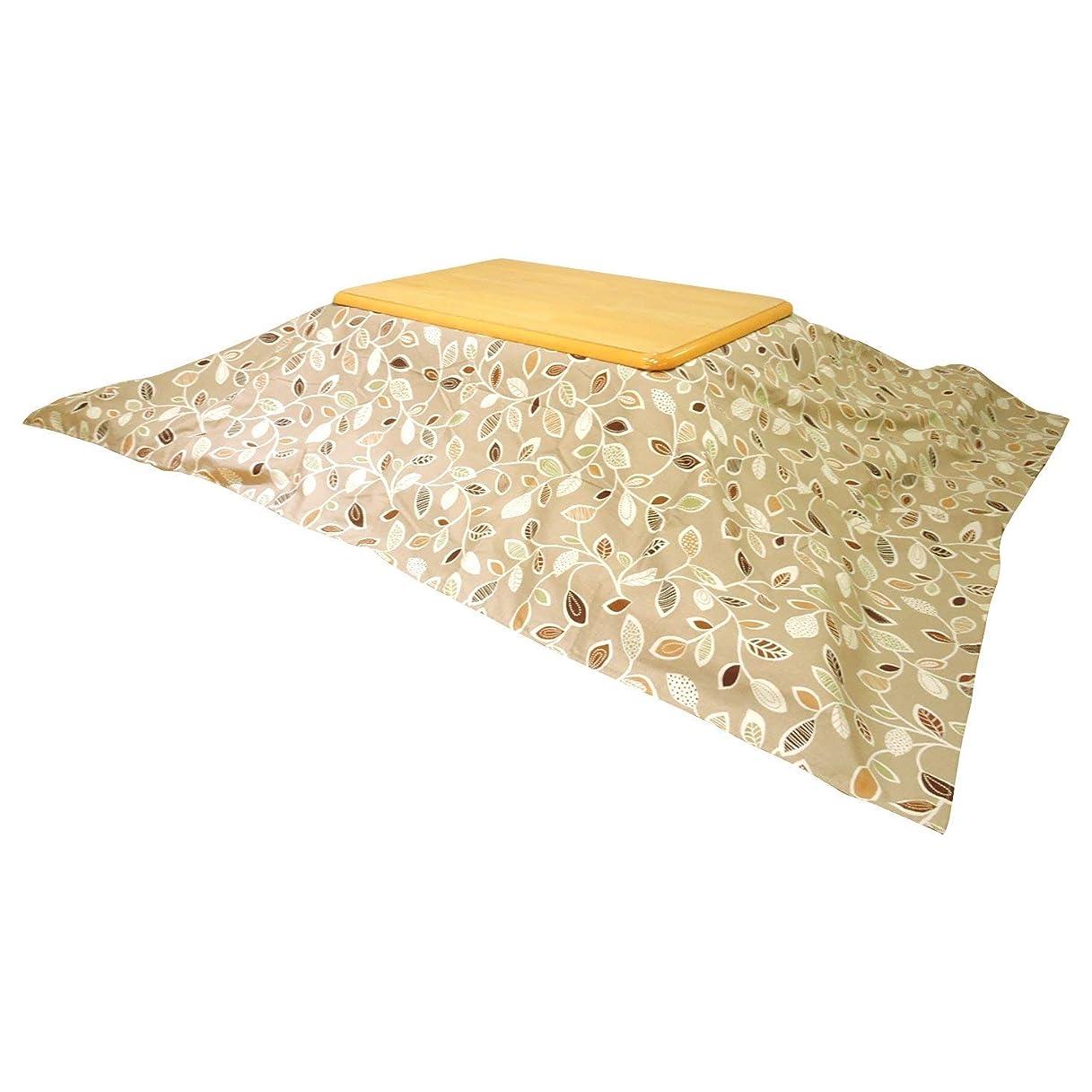 高音侮辱ウォルターカニンガム眠り姫 日本製 お手軽 上掛け マルチ ソファーカバー ナチュラルリーフ 215×295cm オックス 綿100% 超大判長方形