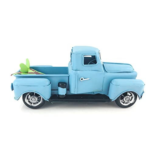 Old Truck With Christmas Tree Painting.Vintage Truck Amazon Com