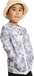 ラッシュガード キッズ 110cm-150cm 長袖 水着 男の子 女の子 UVカット接触冷感