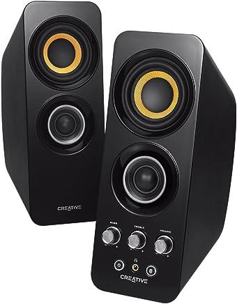 Creative T30 W Altoparlanti 2.0, Bluetooth, Attive Speaker, NFC, Aux-In 3.5 mm, Nero - Trova i prezzi più bassi