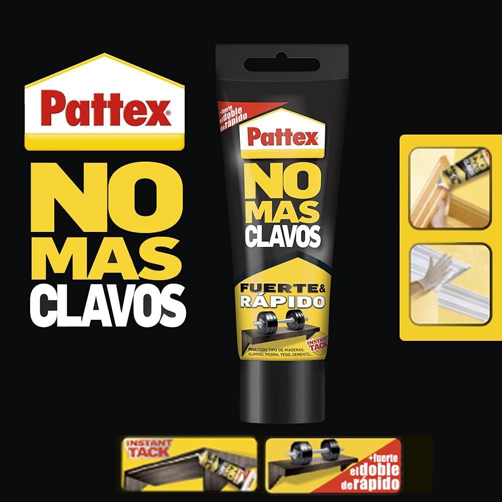 Adhesivo de montaje Pattex No más clavos por sólo 5,79€ (compra 4 y obtén un 5% de descuento adicional)