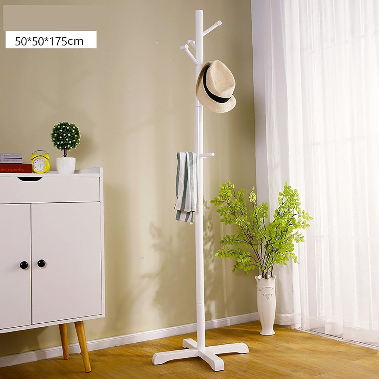 Coat Rack Coat Rack Floor Bedroom Hanger Simple Wooden Coat Rack Economy Hanger Creative Clothes Hanger (color   B)
