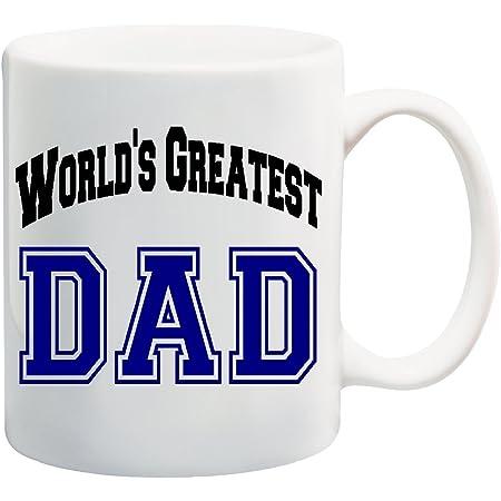 WORLD'S GREATEST DAD Coffee Mug Cup - 11 ounces