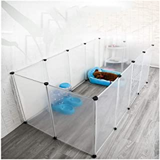 L Pet Playpen,for Rabbits/Guineas/Dogs and Cats DIY Foldable Playpen