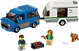 LEGO City Great Vehicles Van & Caravan 60117 Building Toy