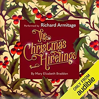The Christmas Hirelings audiobook cover art