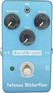Aural Dream Intense Distortion Guitar Effect Pedal with Brown Sound and 2 modes 70s distortion,True Bypass