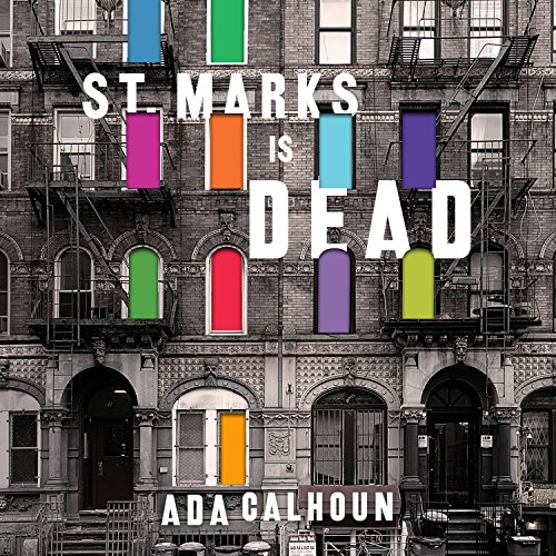 St. Marks Is Dead audiobook cover art