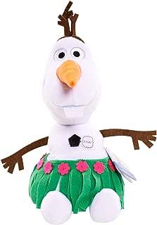 Disney Frozen Talking Olaf Hula Skirt Bean Plush