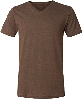 Joe's USA Men's Short Sleeve V-Neck Jersey T-Shirts in 37 Colors