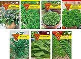 Frankonia-Samen / Kräuter / Samen-Sortiment / 7 Sorten / Grüne Soße Mix / die berühmte Frankfurter Grüne Soße zum Selbermachen