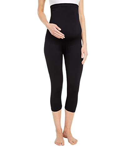 Belly Bandit Bump Support Capri Leggings (Black) Women