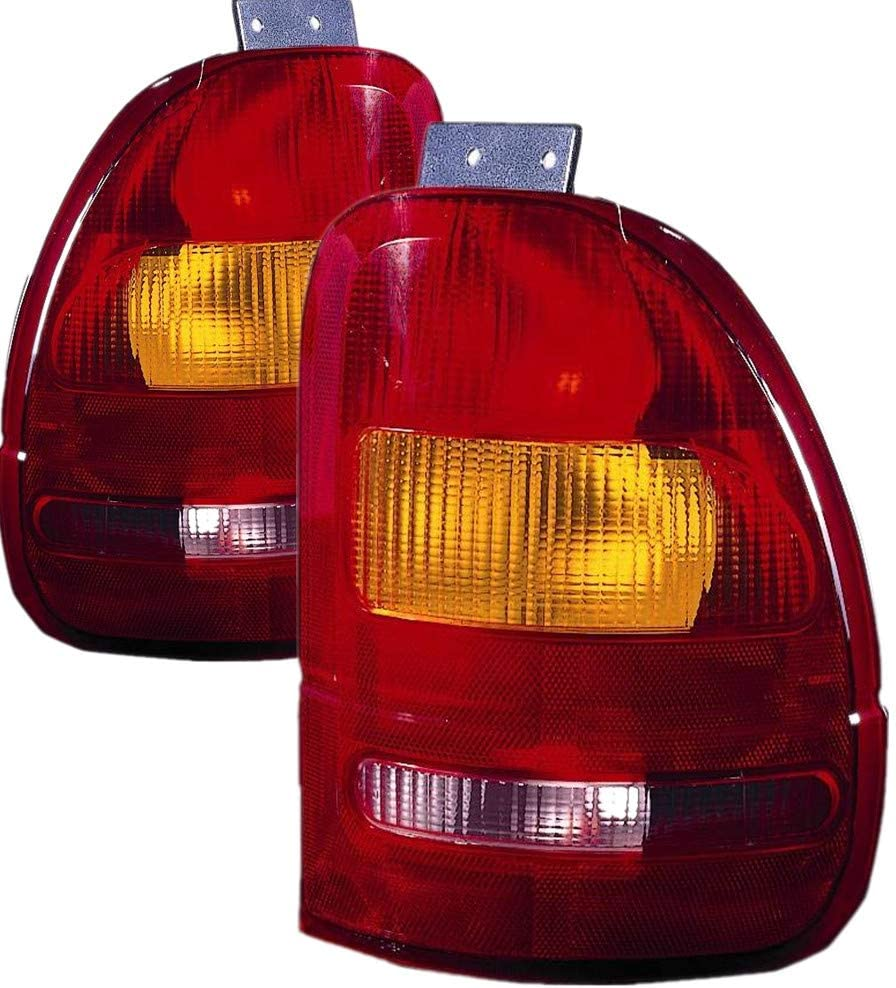 JP Auto Outer Tail Light [正規販売店] Compatible メーカー再生品 Ford Windstar 1996 With 1995