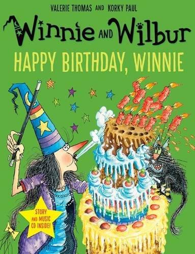 Winnie and Wilbur: Happy Birthday, Winnie with audio CD