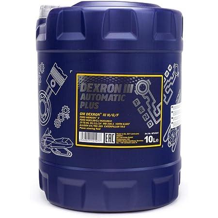 1 X 10l Mannol Atf Dexron Iii Automatic Plus Automatikgetriebe Servo Öl Rot Auto