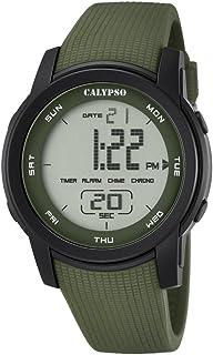 Calypso–Reloj Digital Unisex con LCD Pantalla