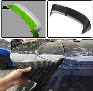 JC SPORTLINE MK7 MK7.5 CF Window Lip, fits Volkswagen VW Golf 7 7.5 R & GTI Hatchback 2014-2018 Carbon Fiber Rear Roof Spoiler Wind Visor Top Lid Wing