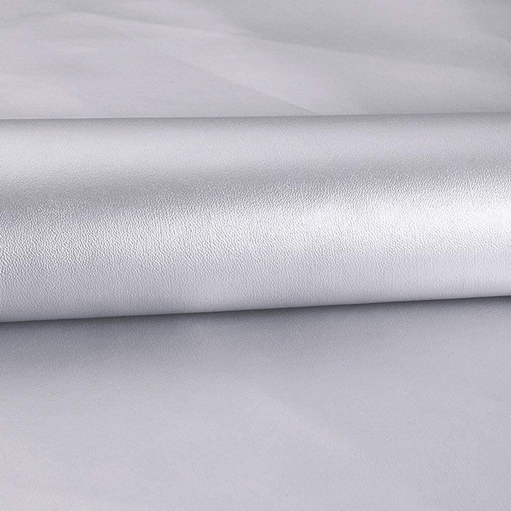 leather material fabric Leatherette Vinyl Fabric Faux Leather Fabric Upholstery Material Sold By The Metre For DIY Home Decoration Artificial Leather Cloth PU Width 138cm For Furniture & Interior Deco