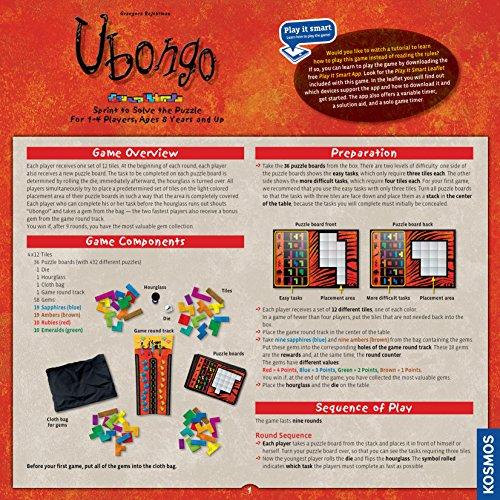 Thames & Kosmos Ubongo: Thames & Kosmos: Amazon.es: Juguetes y juegos