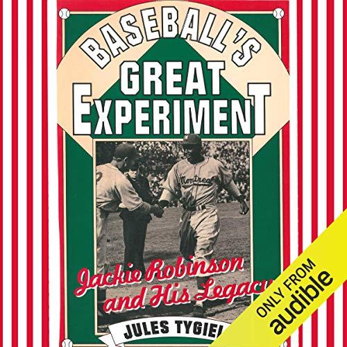 Baseball's Great Experiment audiobook cover art