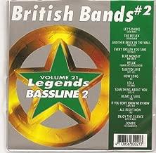 LEGENDS Bassline Vol.21 Karaoke CDG BRITISH BANDS Vol.2
