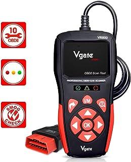 vgate Scanner OBD2 VR800, leitor de código de falha do motor OBD2, ferramenta profissional de digitalização de diagnóstico...