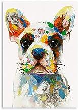 Amazon Com Wall Art With Bulldog
