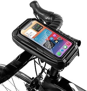 Bike Phone Holder Bag Case Waterproof Cycling Bike Mount 6.9In Mobile Phone Stand Bag Handlebar MTB Bicycle Accessories