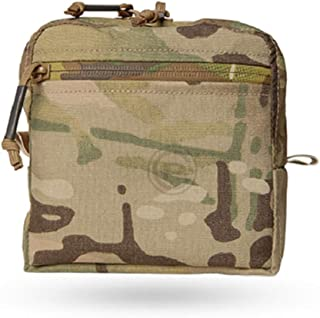 """Coyote Brown Crye Precision General Purpose GP Utility Pouch  9/"""" x 7/"""" x 3/"""""""