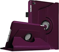 Fintie Rotating Case for iPad Mini 4 - 360 Degree Rotating Stand Case with Smart Cover Auto Sleep/Wake Feature for iPad Mini 4 (2015 Release), Purple