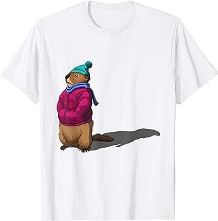 GroundHog Day T-Shirt Gift Forecasting Shadow Men Women