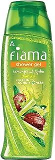Fiama Shower Gel Lemongrass & Jojoba Body Wash with Skin Conditioners for Smooth Skin, 250 ml bottle