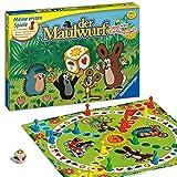 Ravensburger 21570 - Der Maulwurf und sein Lieblingsspiel - Spieleklassiker für Kinder, Spiel für...
