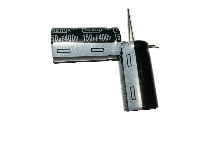 150uF 400V 18X36 +/-20% -40 to +105°C 5 PCS Aluminum Electrol