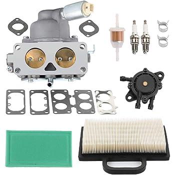 Brand New 797890 Carburetor Rebuild Kit With Float Choke Valve and Gaskets for Briggs /& Stratton V-Twin 20-25hp Model 791230 Carburetor