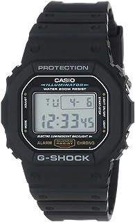ساعة جي-شوك للرجال من كاسيو بسوار من الراتنج ومينا رمادي - GA-5600E-1VDF