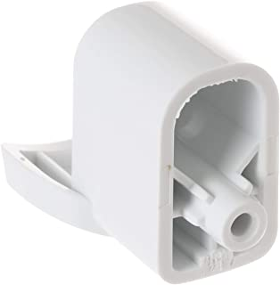 GaofeiLTF (1pcs) WB06X10943 Handle Support Accessories for General Electric GE Microwave Off White
