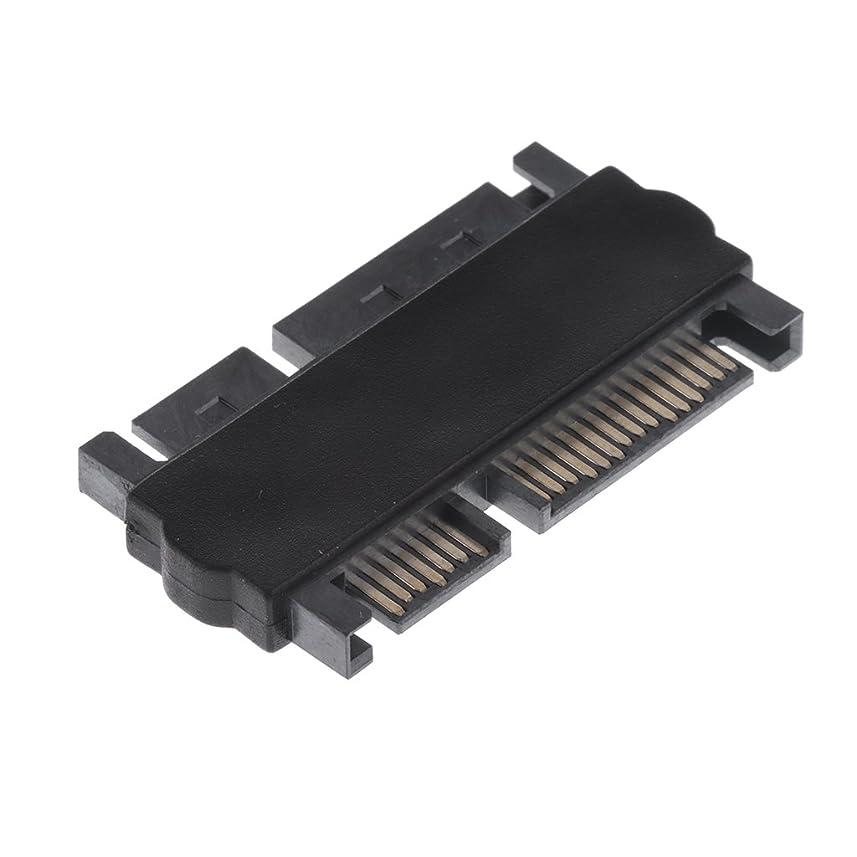 権威メロディアス追うDovewill 2.5インチ  HDD SATA 22ピン  7+15P オス→オス エクステンション コンバータ データ アダプター 携帯便利 使いやすい