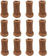 Hardware 12 Stks/3 Sets Stoel Been Sokken Polyester Dual Layer Vloerbescherming Breien Sokken Anti-Slip Mat Tafelvoet Meub...
