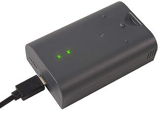 RV4 Batteria di ricambio ricaricabile e cavo di ricarica compatibile con Ring Video Doorbell, Doorbell 2, Doorbell Pro, Do...