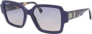 نظارات شمسية من روبيرتو كافالي RC 1130 81W ازرق لامع, بنفسجي هافانا/Gr. بلو تو بي