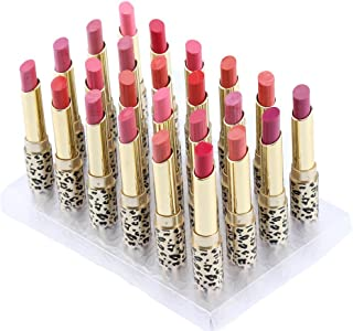 Matte Lipstick Kit, 12 Colors 24pcs Moisturizing Lip Sticks Set Leopard Lipsticks